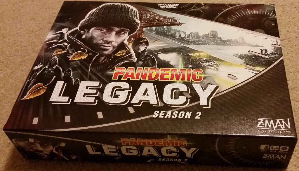 Picture of the Pandemic Season 2 box.